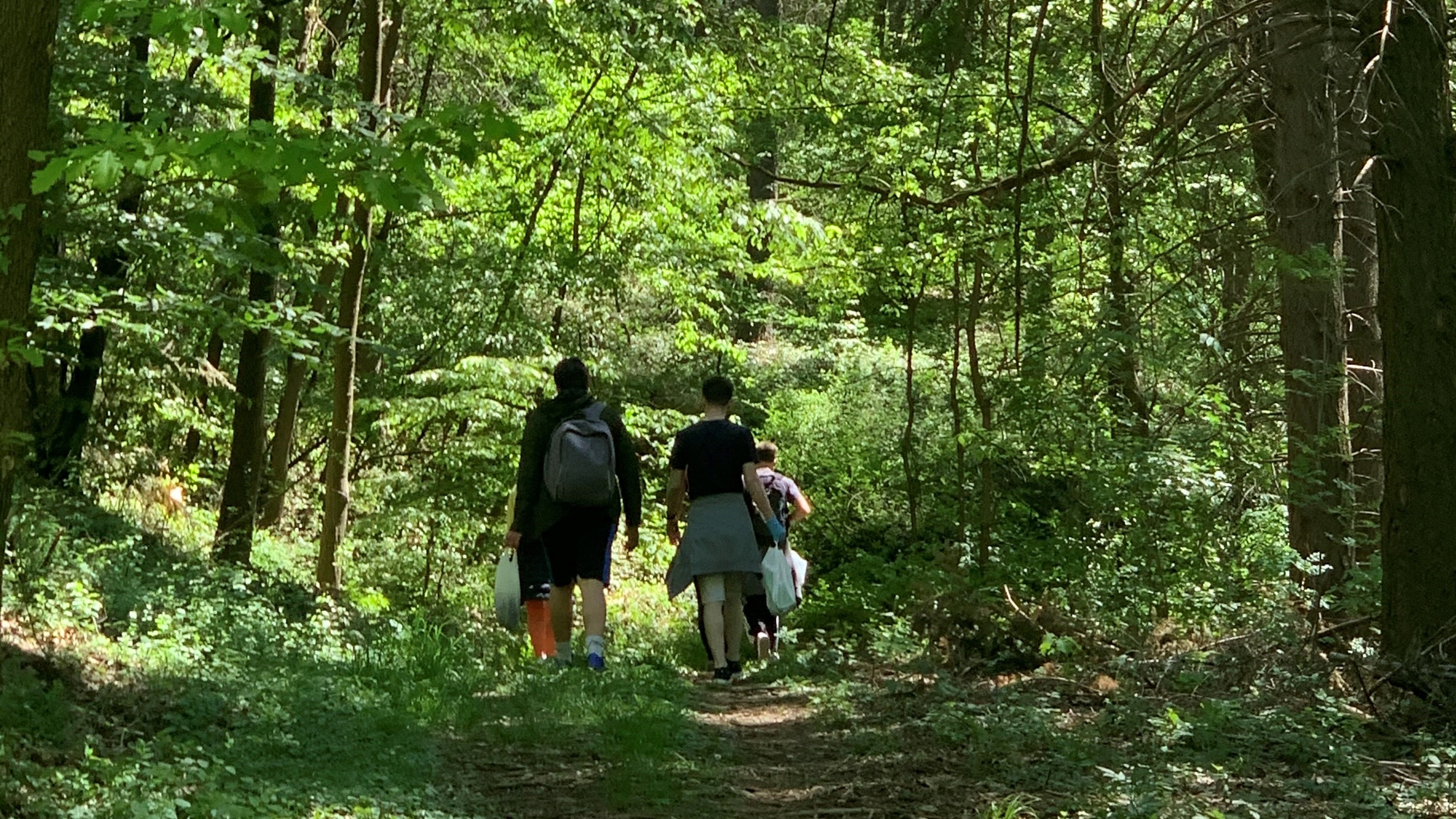 PEXIM Alumni Gather in the Nature and Launch the Hike and Clean Up Initiative